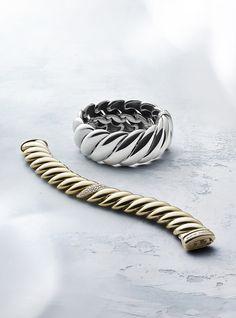 Hampton Cable bracelets.   David Yurman @SouthCoastPlaza
