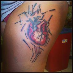 #heart #tattoo #hearttattoo