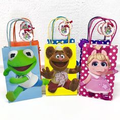 Muppet Babies Party Bags - Source by Twin Birthday Parties, Baby 1st Birthday, Birthday Ideas, Disney Birthday, Muppet Babies, Baby Party Bags, Christmas Carol, Funny, Goody Bags