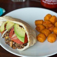 Quinoa Veggie Burgers recipe