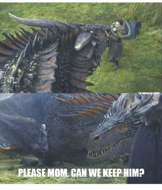 Drogon knows what's up