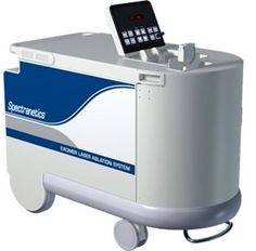 The Excimer Laser System is used for unblocking arteries. For use in minimally invasive interventional procedures within the cardiovascular system, including coronary and peripheral procedures and the removal of cardiac leads.
