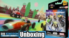 Disney Infinity 3.0 Toy Box Speedway Unboxing