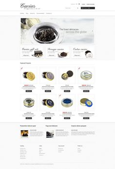 9+ Greatest Luxury & Gourmet Food Store Themes for Shopify - Cacacaviararar (ecommerce Shopify theme) Item Picture