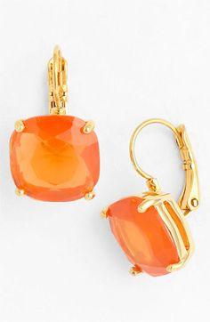 kate spade new york boxed drop earrings