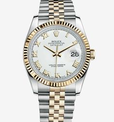 Rolex Oyster Perpetual Datejust in two-tone gold. Want this for my anniversary (or 15 :) Rolex Oyster Perpetual Datejust in two-tone gold. Want this for my anniversary (or 15 :) Vintage Rolex, Vintage Watches, Cartier Rolex, Buy Rolex, Swiss Luxury Watches, Luxury Watches For Men, Rolex Oyster Perpetual, Watches Rolex, Rolex Datejust Ii