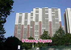 5 Massey Square is a highly desirable condominium in the Greater Toronto Area. Each unit at the condominium is large and spacious. Amenities ar 5 Massey Square include an indoor swimming pool, exercise room, recreation room and a squash court. 5 Massey Square is affordable in value, and perfect for the first time buyer.