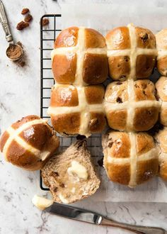 Hot Cross Buns Recipe | RecipeTin Eats
