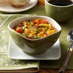 German Vegetable Soup- Taste of home