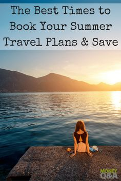 A list of the best times to book your summer travels and vacation plans to save the most money on your hotels, airfare, cruises, and other summer travel. Cheap Travel, Budget Travel, Travel Hacks, Travel Tips, Best Money Saving Tips, Saving Money, Money Tips, Trip Planning, Financial Planning