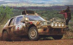 ra Safari Rally 1985 Timo Salonen-Seppo Harjanne Peugeot 205 Turbo 16 7.overall