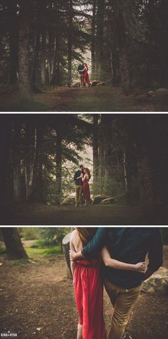 Engagement Poses – How to Make Them Memorable Forest Engagement Photos, Engagement Couple, Engagement Pictures, Engagement Shoots, Pre Wedding Photoshoot, Wedding Shoot, Wedding Decor, Couple Photography, Engagement Photography