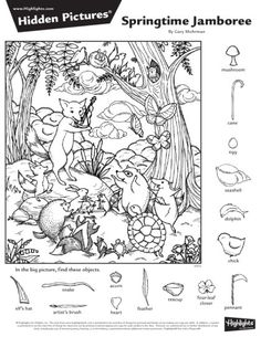 Library Activities, Art Therapy Activities, Art Activities For Kids, Art For Kids, Hidden Picture Games, Hidden Picture Puzzles, Hidden Object Puzzles, Hidden Objects, Hidden Images