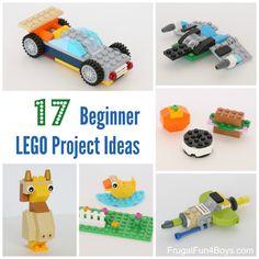 17 Beginner LEGO Project Ideas
