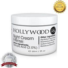 INTENSE Acne Cream  2 Salicylic Acid Night Cream Intense  Overnight acne treatment 400 STRONGER than regular acne creams 60ml Bottle -- Want additional info? Click on the image.