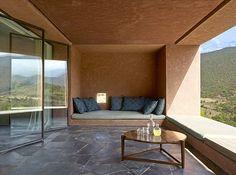 Villa E Foothills House in Morocco by Studio Ko, Karl Fournier & Olivier Marty Beautiful Architecture, Interior Architecture, Interior And Exterior, Interior Decorating, Interior Design, Loft, Outdoor Rooms, Indoor Outdoor, Outdoor Furniture