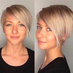 Kies hier jouw favoriete korte kapsel in 1 van deze mooie blonde kleuren! - Kapsels voor haar