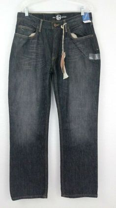 0a4768b9e East West Jeans Dark Wash Mens 34x30 NEW WITH TAGS  EASTWEST Jordans For  Men
