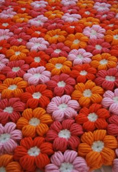 DIY 6 Petal Crochet Flower Baby Blanket ~ DIY Craft Project