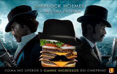 Cliente: Lifebox / Proposta: Montagem beseada no filme Sherlock Holmes - Jogo de sombras, para a promoção LIFEBOX - CINEPRIME / Desenvolvimento: Igor Alves