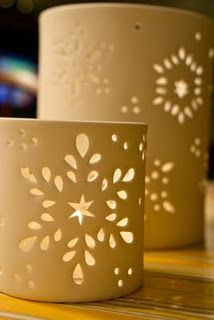 How to Decorate Ceramic Tiles Ceramic Lantern, Ceramic Candle Holders, Ceramic Light, Votive Holder, Lampe Applique, Pottery Handbuilding, Christmas Clay, Pottery Classes, Pottery Sculpture