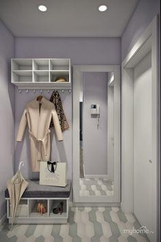 Квартира 45 кв.м. с большой лоджией от студии дизайна Дарьи Ельниковой