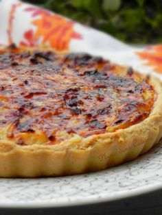 Tarte à l'oignon (17) Quinoa Lunch Recipes, Good Healthy Recipes, Veggie Recipes, Appetizer Recipes, Quiche Lorraine, Batch Cooking, Cooking Recipes, Quiches, Omelettes