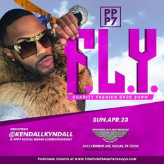 Dallas TX! The most anticipated social extravaganza of haute runway fashion luxury shopping bar service eats beats n more is back with PPP VII. We invite you to experience the F.L.Y.Edition.  Get Red Carpet ready cus the  will be flashing  you never know who will be in the building Always Grown & Sexy PPP VII is BIGGER N BETTER this year with more cuttingedge creations from Dallas-based fashion powerhouses @bdonnas & @shopjacquem  Mark your calendarsit's going down  Sunday April 23rd  at the…