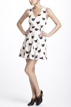 Feline Karma Dress - Anthropologie.com
