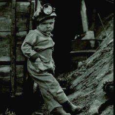 Little coal miner back in the day!