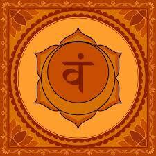 Svadhishtana è il secondo chakra, desiderio,  piacere,  sessualità,  procreazione,  capacità di provare emozioni e sentimenti.  E' situato nel basso ventre, poco al di sopra del pube, in corrispondenza dell'osso sacro. ............