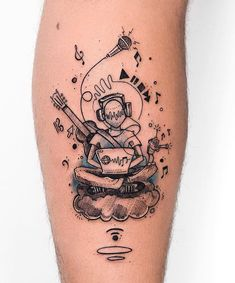 melomane tattoo music tattoos tats womens mens girls boys hand finger small back shoulder arm wrist leg ankle Full body sleeve chest awesome amazing