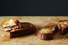 Alice's Grilled Chocolate Sandwiches