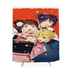 Noragami Fanart Shower Curtain