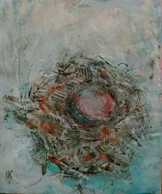 "Part of my nest series.  7.5"" x 6.5""  For more information or to sign up for my newsletter, www.lorrakurtz.com My Nest, India Ink, Paintings, Sign, Fine Art, Paint, Painting Art, Ink, Draw"
