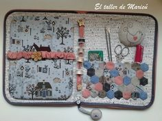 El taller de Maricú:costurero de Lynette