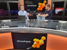 In this video, I was able to speak to Cosmos Darwin from the Windows Server team about how to get started with Azure Stack HCI. Microsoft Ignite, Windows Server, Cloud Based, Darwin, Cosmos, Stage, Interview, Couple, Live
