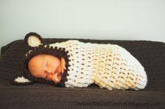 "crochet baby cocoon Baby Cocoon Crochet Pattern New Daisies Crochet Crochet Baby Cocoon Pdf Pattern ""beary Of Baby Cocoon Crochet Pattern Fresh 17 Best Images About Baby Bunting Etc Crochet Bebe, Crochet For Kids, Knit Crochet, Crochet Hats, Baby Patterns, Baby Knitting Patterns, Crochet Patterns, Free Knitting, Crochet Baby Cocoon Pattern"