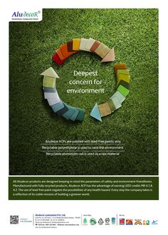 All Aludecor products as designed keeping in mind the parameters of #safety and #environment-friendliness. Manufactured with fully #recycled products, Aludecor ACP has the advantage of earning #LEED #credits MR 4.1 & 4.2. http://www.aludecor.com/su