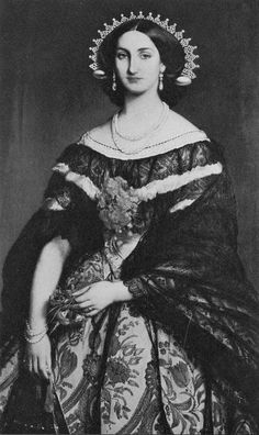 Empress Carlotta of Mexico [Princess Charlotte-Amelie of Belgium] (1840-1927)
