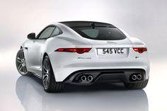 2015 Jaguar F-Type R Coupe Rear View