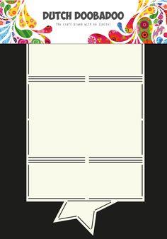470.713.604 Dutch Doobadoo Card Art Ster