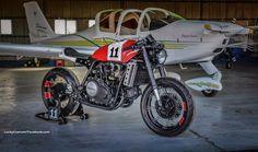 """Honda VF 750 """"MAXIMO #11"""" by Lucky Custom"""