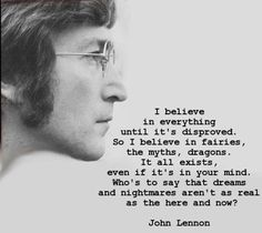 I love quotes from John Lennon