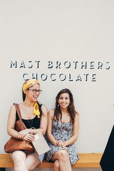 a mast brothers chocolate tour — molly yeh