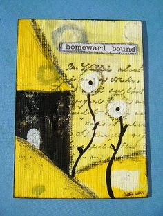 "ATC Yellow, Black & white ""Homeward bound"""