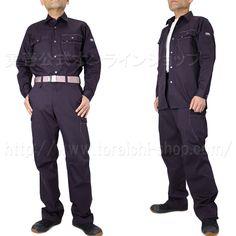 Toraichi 3940-125 long‐sleeved shirt 3940-211 Wide cargo pants