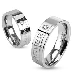 """Top Rated Gift for Valentine's Day - Personalize """"Love You Forever"""" Stainless Steel Ring - http://www.forevergifts.com/personalize-love-you-forever-stainless-steel-ring/"""