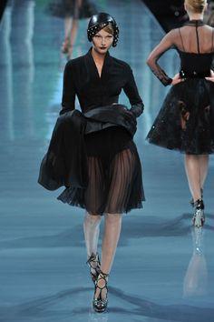 Christian Dior Fall 2008 Couture Fashion Show - Tatyana Usova