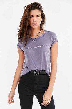 Truly Madly Deeply Exactly What You Think Tee - Urban Outfitters